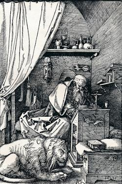 St Jerome in His Cell, 1511 by Albrecht Dürer