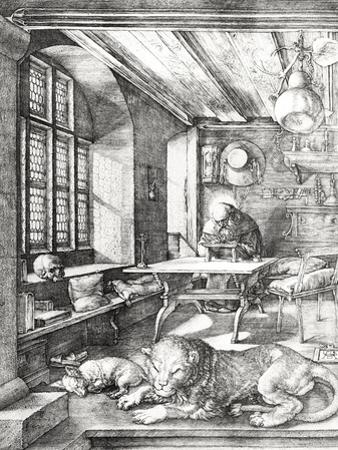 St. Jerome in His Study, 1514 by Albrecht Dürer