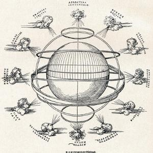 The Armillary Sphere, 1525 by Albrecht Dürer