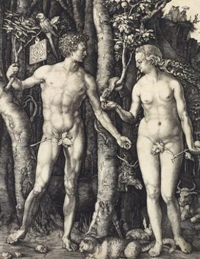 The Fall of Man (Adam and Eve) by Albrecht Dürer