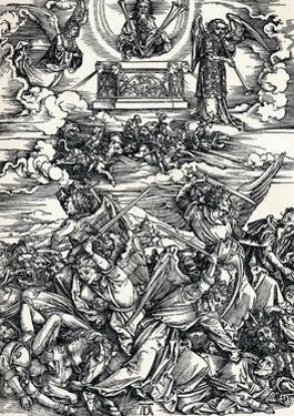 The Four Avenging Angels, 1498 by Albrecht Dürer