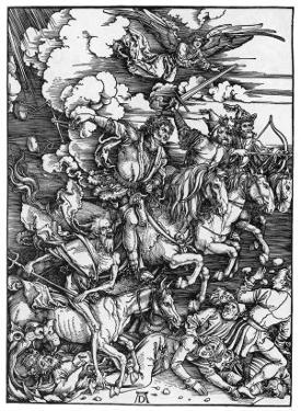 The Four Horsemen of the Apocalypse by Albrecht Dürer