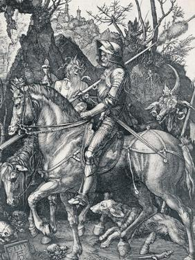 The Knight, Death and the Devil, 1513 by Albrecht Dürer
