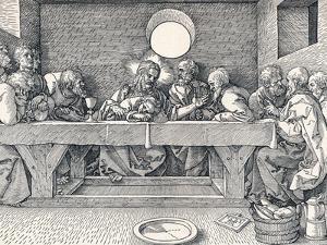 The Last Supper, 1523 by Albrecht Dürer