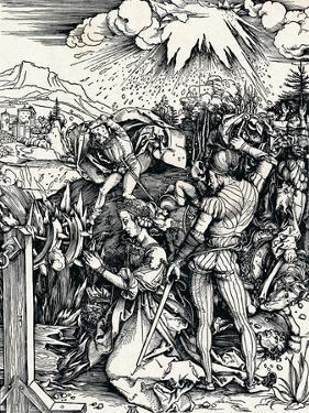 The Martyrdom of St Catherine, 1497 by Albrecht Dürer