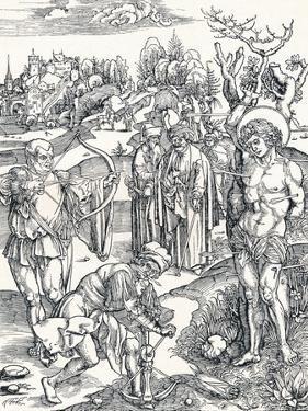 The Martyrdom of St Sebastian, C1495 by Albrecht Dürer