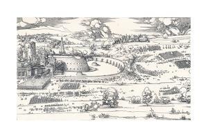 The Siege of a Fortress I, 1527 by Albrecht Dürer