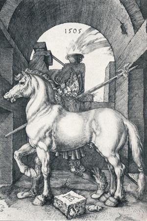 The Small Horse, 1505 by Albrecht Dürer