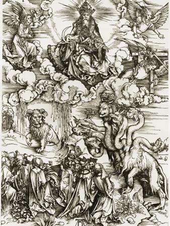 The Whore of Babylon by Albrecht Dürer