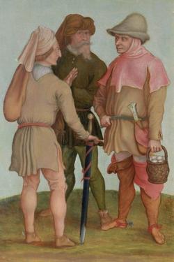 Three Peasants, 16th or 17th Century by Albrecht Dürer