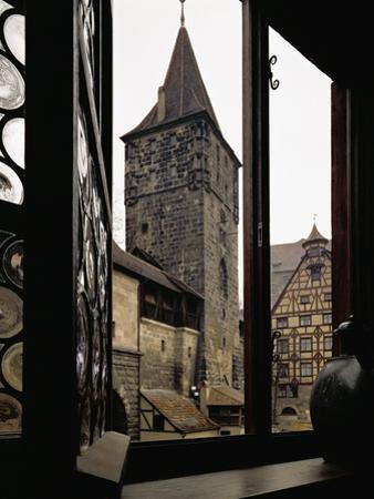 View from Albrecht Duerer's House in Nuernberg, Germany by Albrecht Dürer