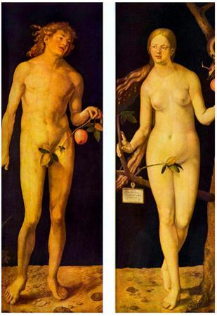 Albrecht Durer (Adam and Eve)