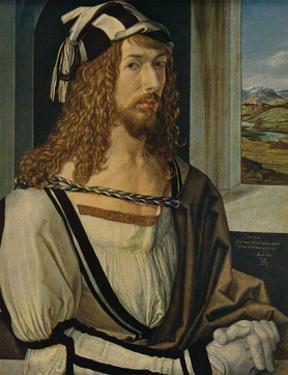 'Autorretrato', (Self-portrait), 1498, (c1934) by Albrecht Durer