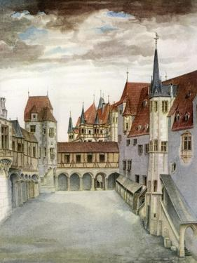 Castle Courtyard, Innsbruck, 16th Century by Albrecht Durer