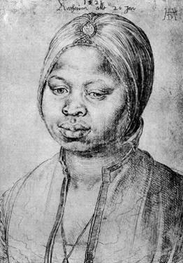 Catherine, the Mulatta of the Portuguese Bradao, 1521 by Albrecht Durer