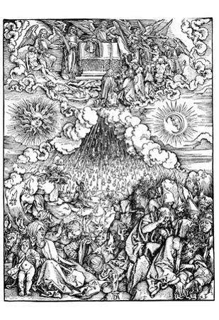 "Albrecht Durer (Illustration for ""Apocalypse,"" Scene: The opening of the sixth seal)"