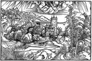 Landscape, 1498 by Albrecht Durer