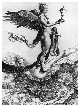 Nemesis or Good Fortune, C1502 by Albrecht Durer