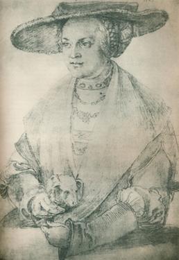 'Portrait of a Lady', c1500-1520, (1903) by Albrecht Durer