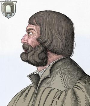 'Portrait of Albrecht Durer', 1527, (1906) by Albrecht Durer