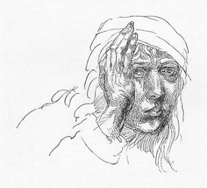 'Portrait of Albrecht Durer when a boy.', c1491, (1906) by Albrecht Durer
