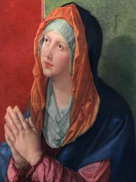 Praying Mary, 1518 by Albrecht Durer