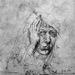 Self Portrait with a Bandage, 1492 by Albrecht Durer
