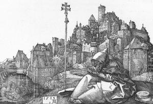 'St. Anthony Reading', 1519, (1906) by Albrecht Durer