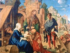 The Adoration of the Magi, 1504 by Albrecht Durer