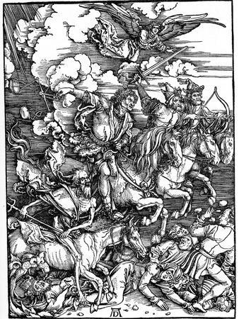 ALBRECHT DURER-l/' adoration de l/'agneau Wall art POSTER print