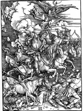 The Four Horsemen of the Apocalypse, 1498 by Albrecht Durer