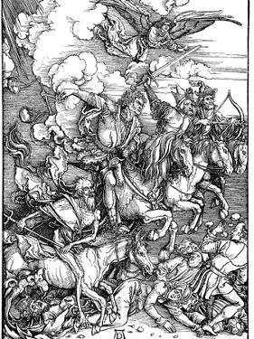 The Four Horsemen of the Apocalypse, 1498 by Albrecht Durer