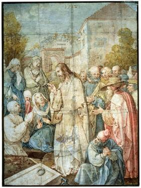 'The Raising of Lazarus', 1512 by Albrecht Durer