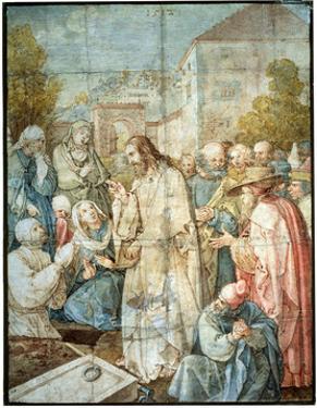 'The Raising of Lazarus', 1512 by Albrecht Durer