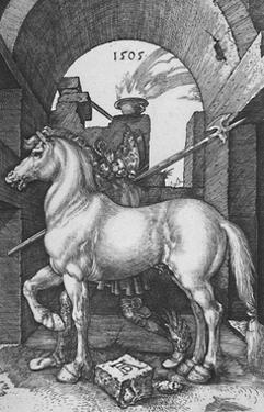 'The Small Horse', 1505, (1906) by Albrecht Durer