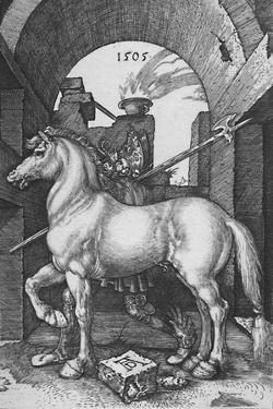 'The Small Horse', 1505, (1906) by Albrecht Durer
