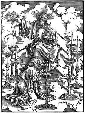 The Vision of the Seven Candlesticks from the 'Apocalypse, 1498 by Albrecht Durer