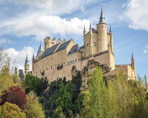 Alcazar Castle Segovia Spain