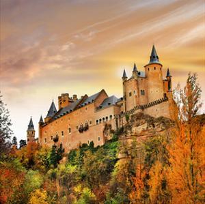 Alcazar Castle Spain Segovia