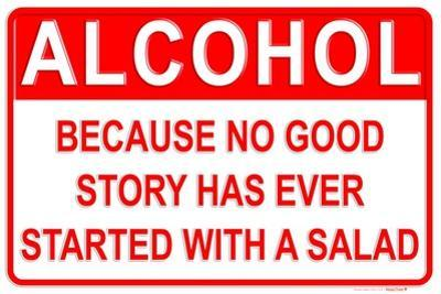 Alcohol Better than Salad