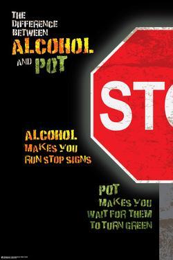Alcohol vs Pot