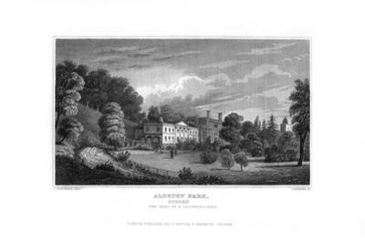 Aldbury Park, Surrey, 1829 by J Rogers