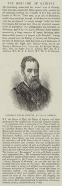 Alderman Henry Bennett, Mayor of Grimsby