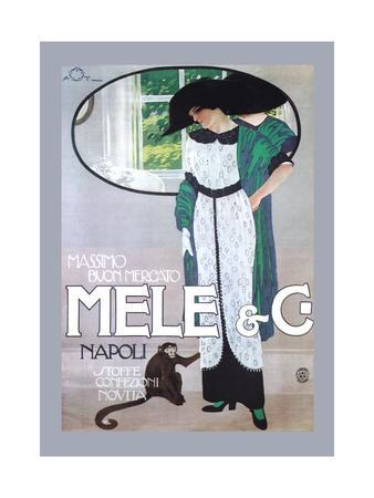 Mele Gown and a Small Monkey