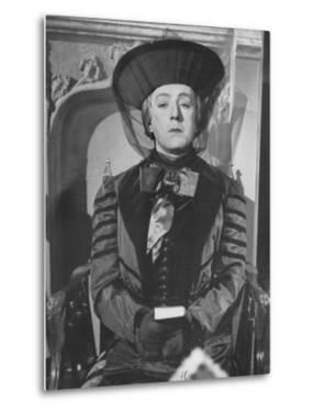 "Alec Guinness During a Scene from the Movie ""Kind Hearts and Coronets"""