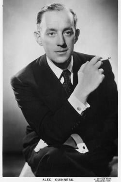 Alec Guinness, Postcard