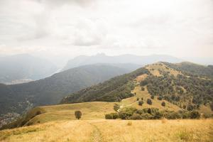 Grassy Hills and Mountains by Aledanda