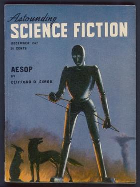 Aesop, a Rather Sad-Looking Robot by Alejandro