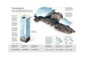 Thickness and Melt Area of Greenland's Ice Sheet by Alejandro Tumas