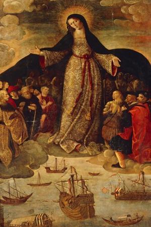 Spain, Seville, Alcazar Palace, Virgin of Seafarers
